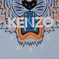 Boys Light Blue Tiger 5 S/s Tee Shirt