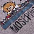 Boys Grey Melange Toy DJ S/s T Shirt
