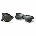 Black RB4105 Folded Wayfarer Sunglasses