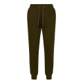 Mens Olive Wood Recycled Sweat Pants