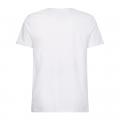 Mens White Lines Hilfiger S/s T Shirt