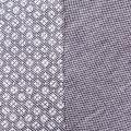 Mens Dark Sapphire Jacquard Front Slim Fit S/s Polo Shirt