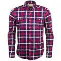 Steve McQueen™ Collection Mens Navy Chain L/s Shirt