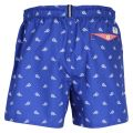 Mens Bright Blue Lob Lobster Swim Shorts