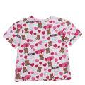 Girls White/Pink Toy Balloon Print S/s T Shirt