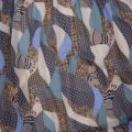 Womens Colony Blue Vimadia L/s Dress