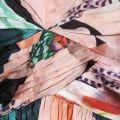 Womens Floral Printed Minnie Dress
