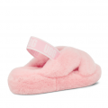 Womens Rose Mallow Fab Yeah Slippers