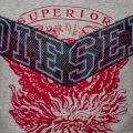 Mens Grey T-Diego-Go S/s Tee Shirt