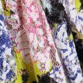 Womens Acid Blonde Multi Botanical Trip Lace Dress