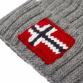 Mens Grey Melange Semiury 3 Knitted Hat