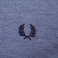Mens Carbon Blue Twin Tipped S/s Polo Shirt