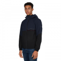 Mens Desert Sky Tech Colourblock Hooded Jacket