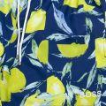 BOSS Mens Blue Lemon Shark Swim Shorts