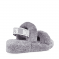 Oh Yeah Soft Amethyst Womens Slide Slippers
