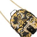 Womens Black Baroque Small Backpack
