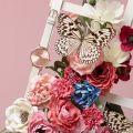Womens Mink & Rose Gold Big Dial Watch