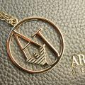 Womens Platinum Metallic Cross Body Bag