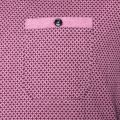 Mens Mid Pink Polrole Printed S/s Tee Shirt