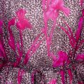Womens Deep Pink Giisell Printed Cover Up