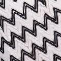 Womens Black & White Mika Dress