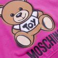 Girls Azalea Pink Toy Cropped Sweat Top