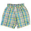Boys Assorted Check Swim Shorts
