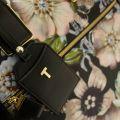 Womens Black Inez Gem Garden Travel Bag