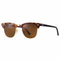 Spotted Havana RB3016 Clubmaster Sunglasses