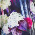 Womens Dark Blue Graciie Hydrangea Haze Jumper