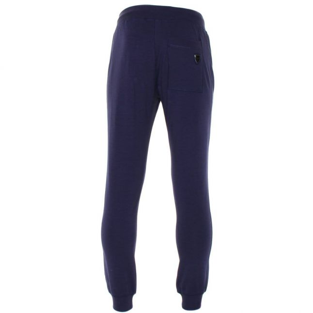 Mens Blue Marine Silver Label Jog Pants