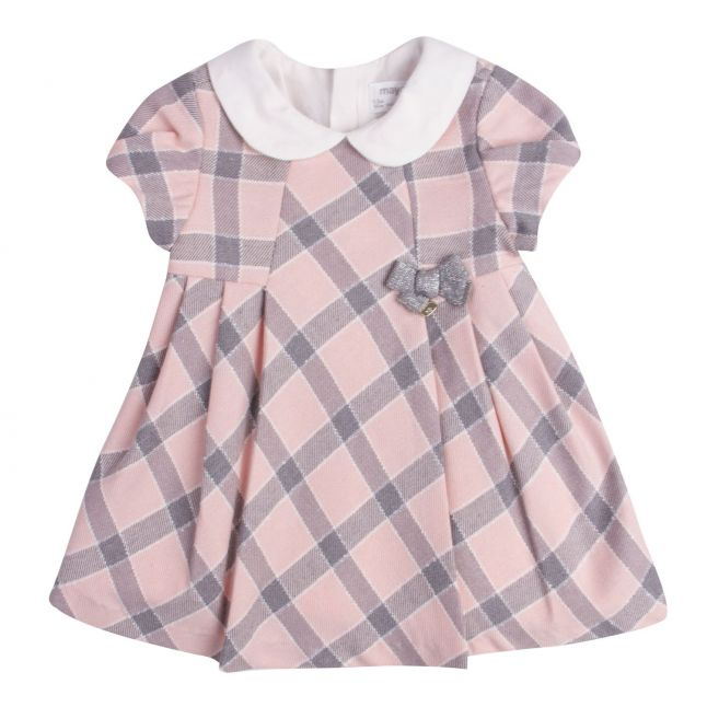 Baby Girls Rose Soft Plaid Dress