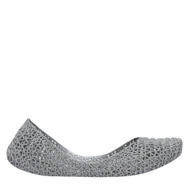 Campana Womens Silver Glitter Papel 21 Shoes