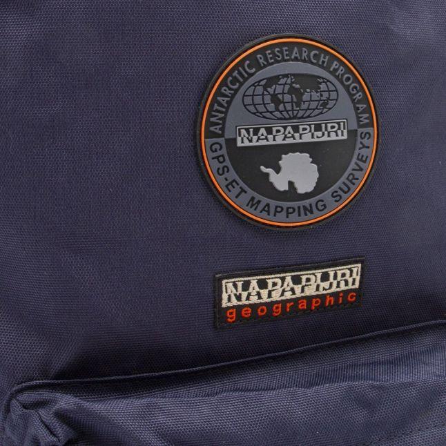 Mens Blue Marine Voyage Backpack