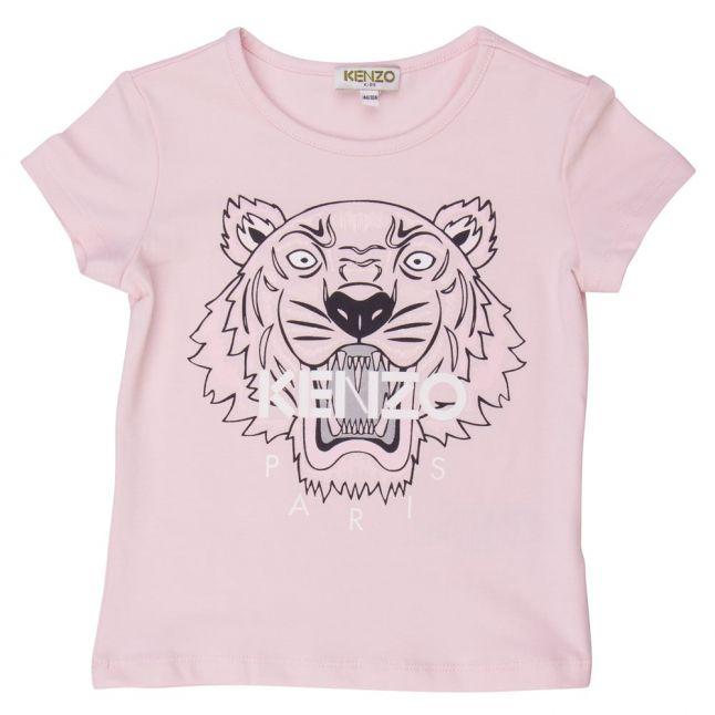 Girls Pink Tiger 1 S/s Tee Shirt