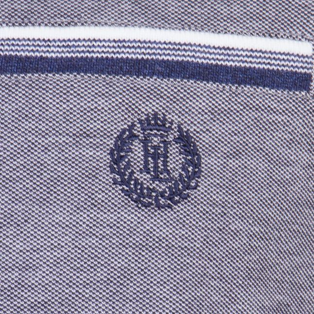 Mens Navy Highland Regular Fit S/s Polo Shirt