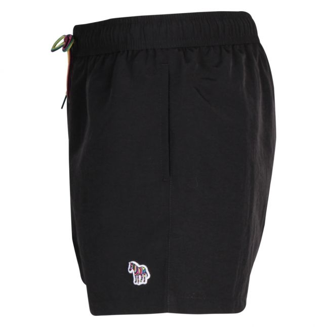 Mens Black Classic Zebra Swim Shorts