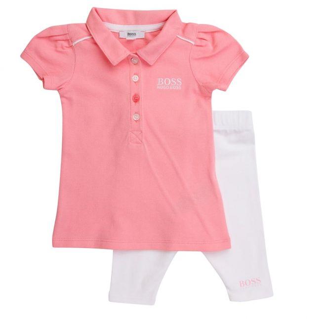Berlingot Branded Polo Shirt & Leggings Gift Set