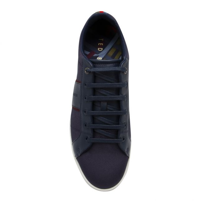 Mens Navy Epprod Textile Mix Trainers