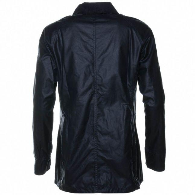Lifestyle Womens Navy Beadnell Waxed Jacket