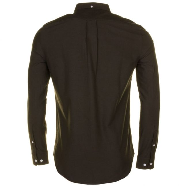 Mens Evergreen Brewer Oxford Slim Fit L/s Shirt
