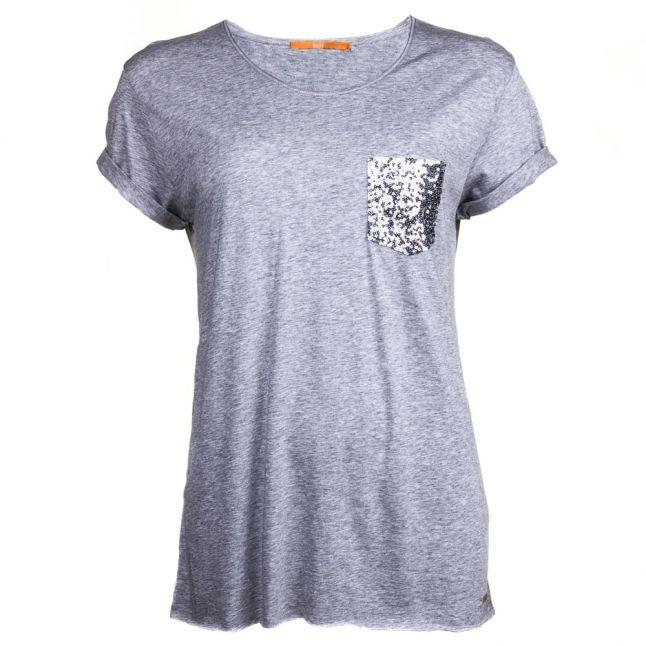 Womens Medium Grey Tamiasa S/s Tee Shirt