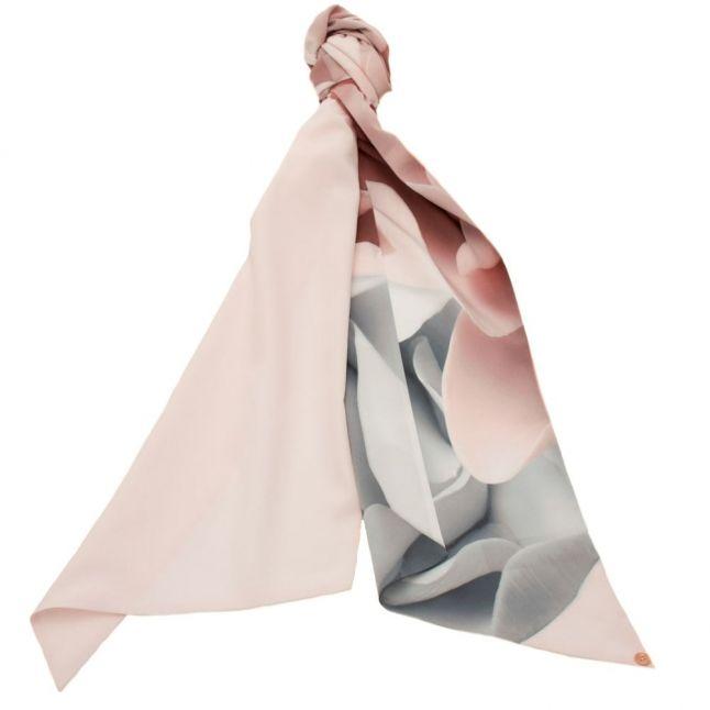 Womens Nude Pink Mansi Porcelain Rose Skinny Scarf
