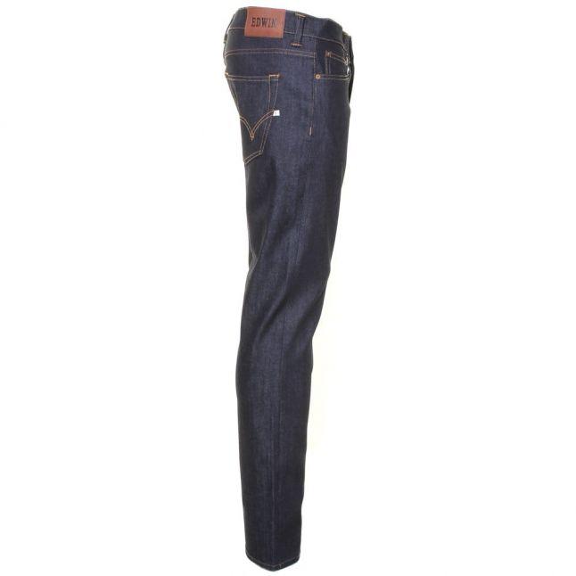 Mens 11oz F9.99 Blue Unwashed ED-80 Slim Tapered Fit Jeans