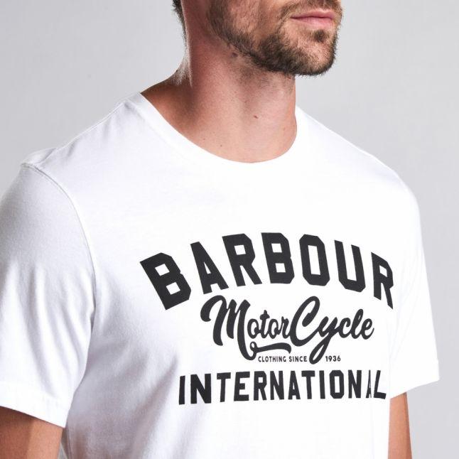 Mens White Fuse S/s T Shirt