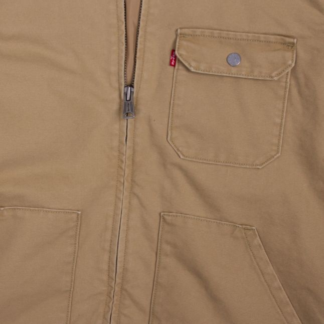 Mens Harvest Gold Waller Worker Overshirt
