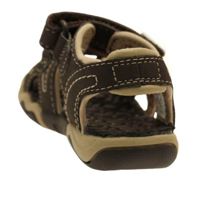 Toddler Brown & Tan Adventure Seeker Sandals