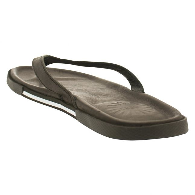 Mens Black Bennison II Flip Flops