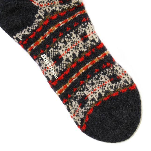 Lifestyle Womens Olive Beckley Fairisle Wool Socks