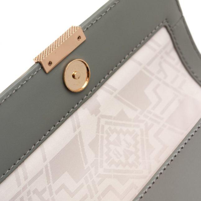 Womens Grey Livvy Mini Cross Body Bag